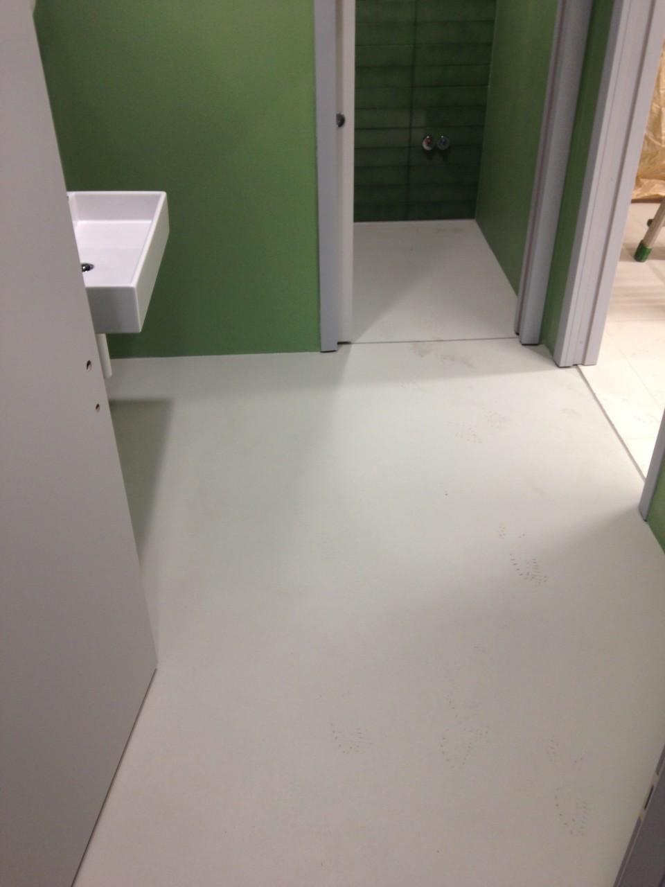 Lavandino bagno cementobagno pavimento cemento : lavandino bagno ...